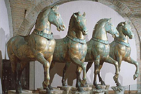 Horses of San Marco - Constantinople Loot