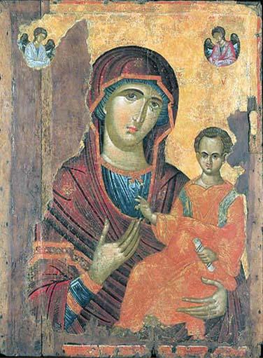 A Byzantine Hodegetria