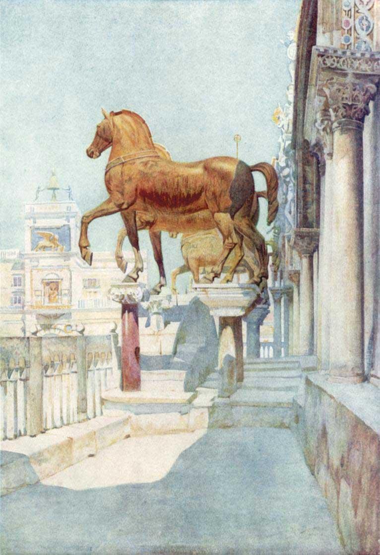 Horses Constantinople Hippodrome