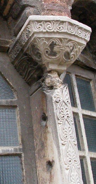 Apse window column from the Pammakaristos