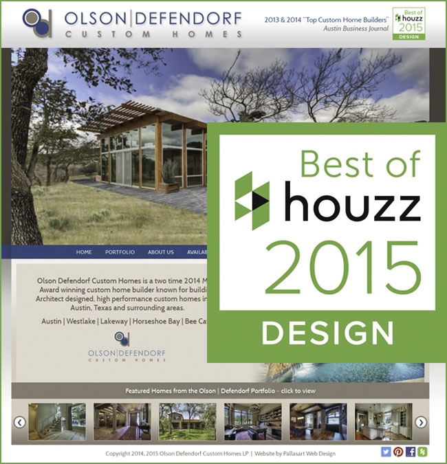 Best of Houzz 2015 Home Builder Texas