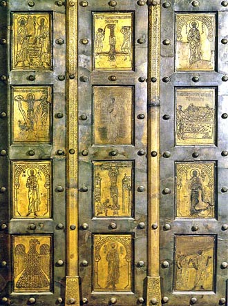 Byzantine bronze doors