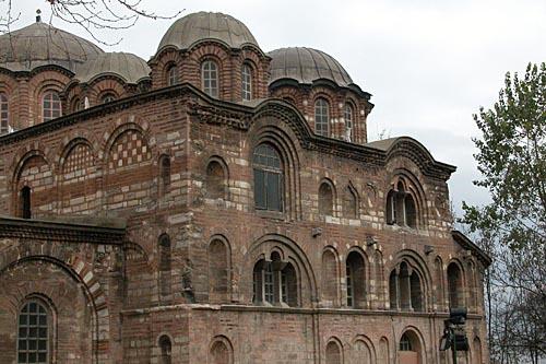 Exterior of the Pammacaristos Church