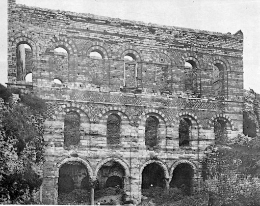 Tekfur Saray Northern Facade