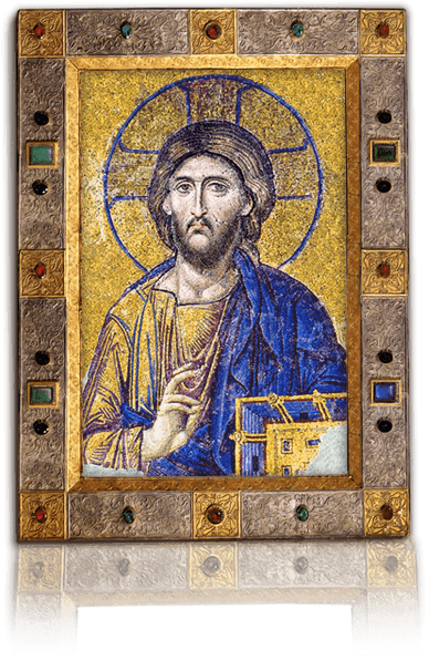 Hagia Sophia - Deesis Mosaic Icon of Christ