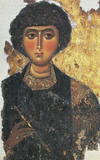 Byzantine Icon St. Demetrios