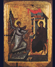 Ikon of the Annunciation