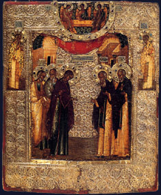 The Virgin Appearing to St. Sergius of Radonezh
