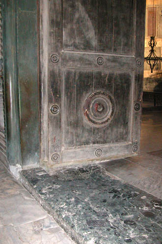 The Threshold Royal Door Hagia Sophia