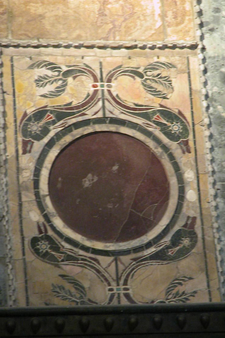 Inlaid Marble Panel from Hagia Sophia