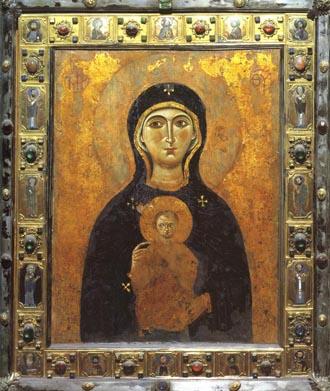 Byzantine Nicopeia icon of San Marco