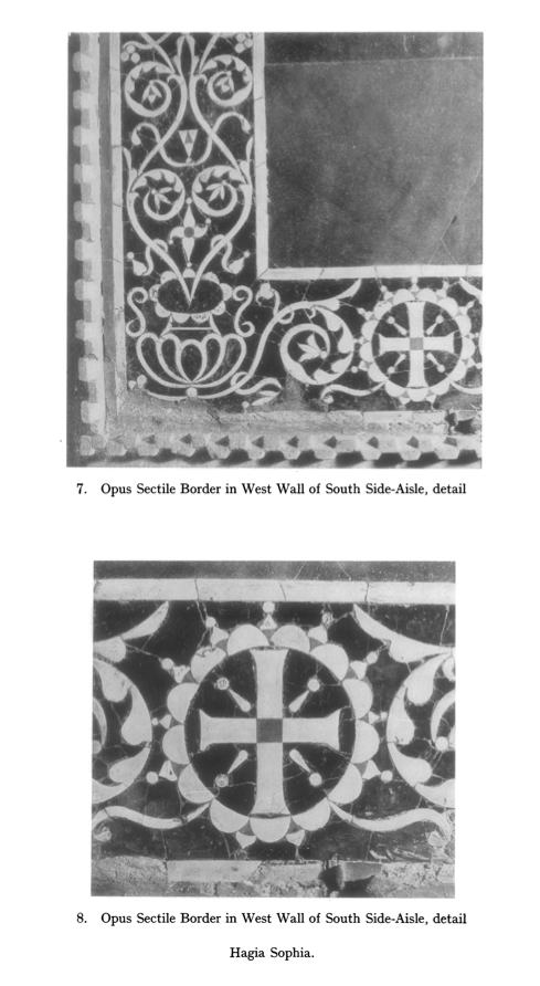 Opus Sectile from Hagia Sophia