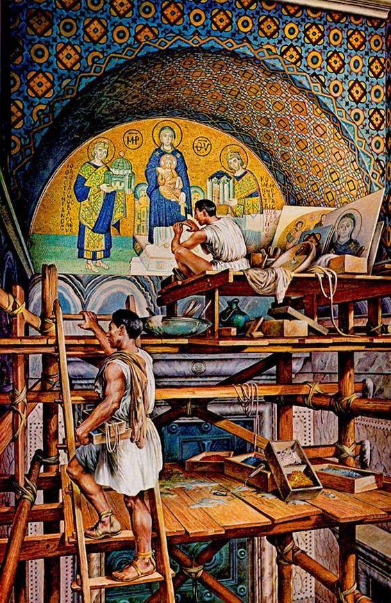 Byzantine Mosaic Artists