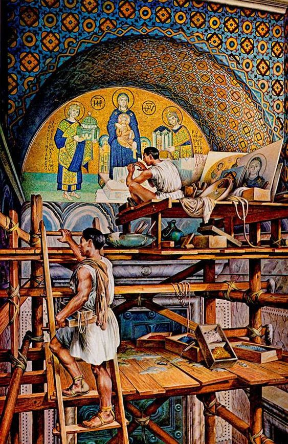 Byzantine Samite Silk