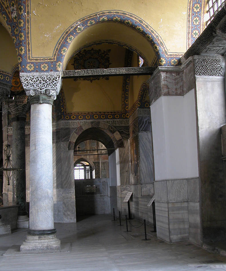 Passage in Hagia Sophia South Gallery