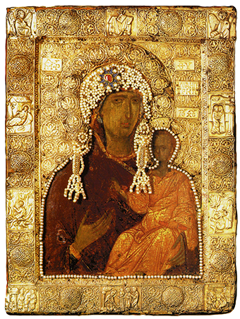 Byzantine Art - Icon of the Theotokos