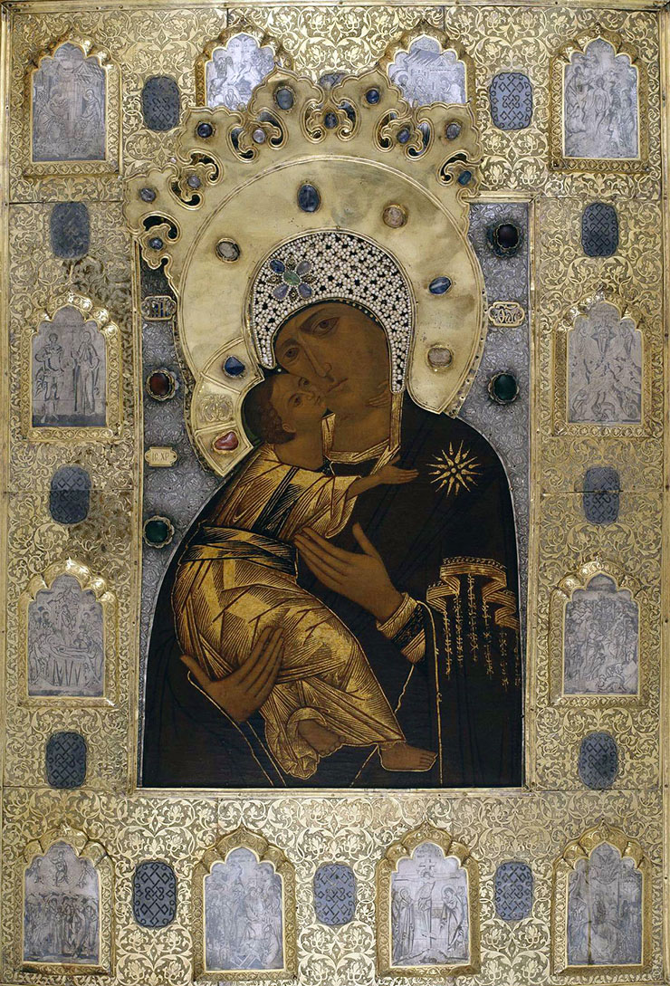 Copy of our Lady of Vladimir icon