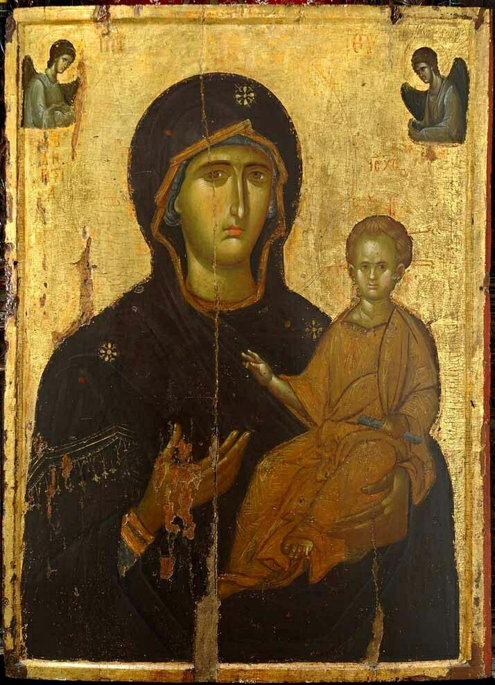 Byzantine icon of the Hodegetria