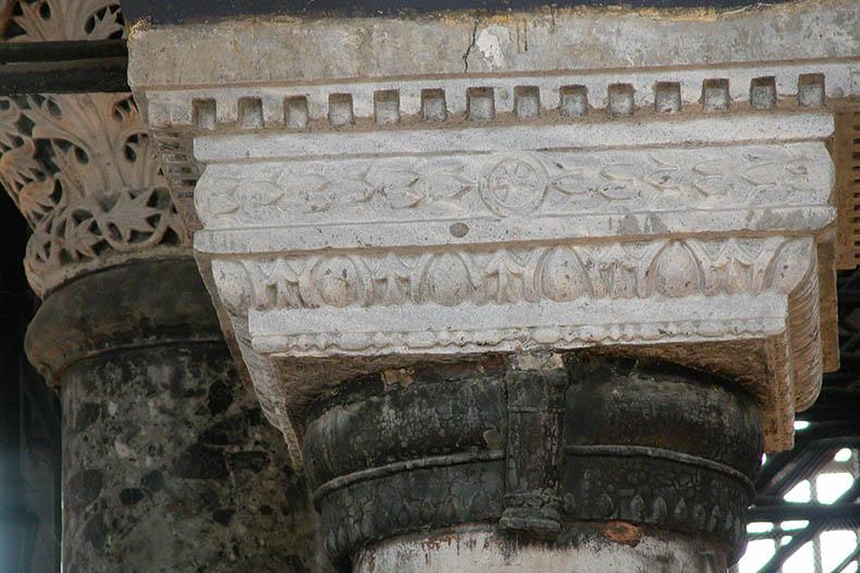 Hagia Sophia Capital Proconnesian Marble