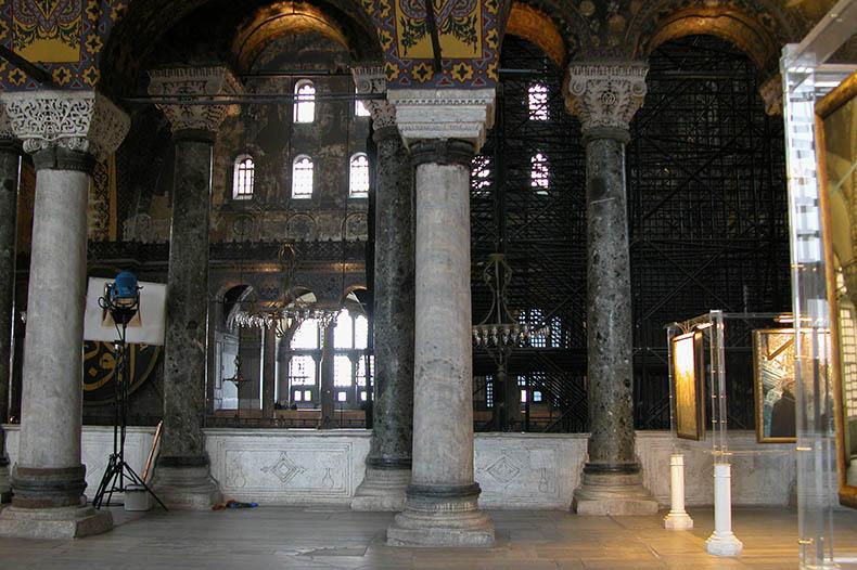 North Gallery arcade Hagia Sophia