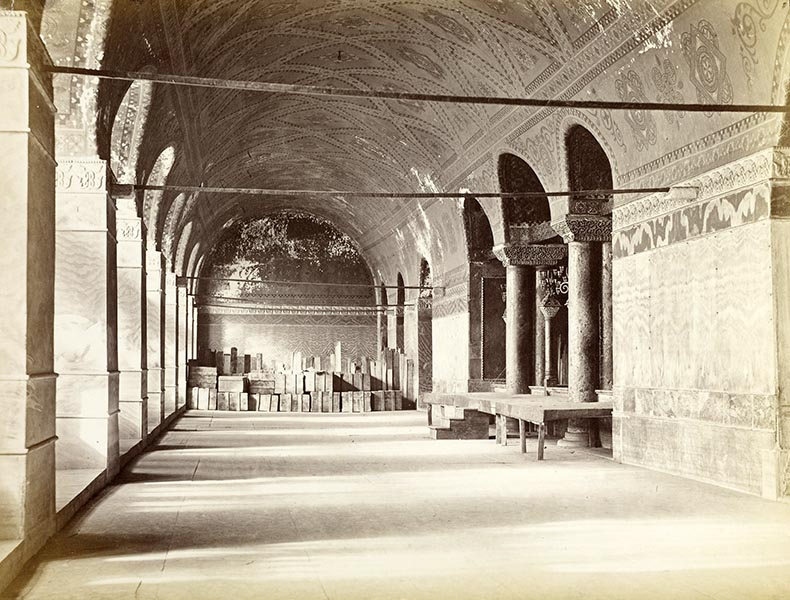 West Gallery of Hagia Sophia