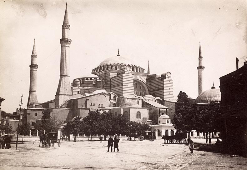 19th century image of Hagia Sophia