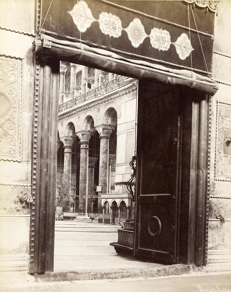 Royal Door Hagia Sophia 19th Century Image