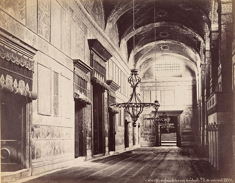 Narthex of Hagia Sophia 19th Century Image