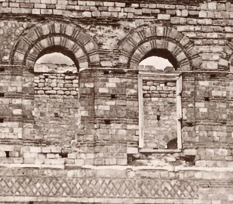 Tekfur Saray - second floor windows