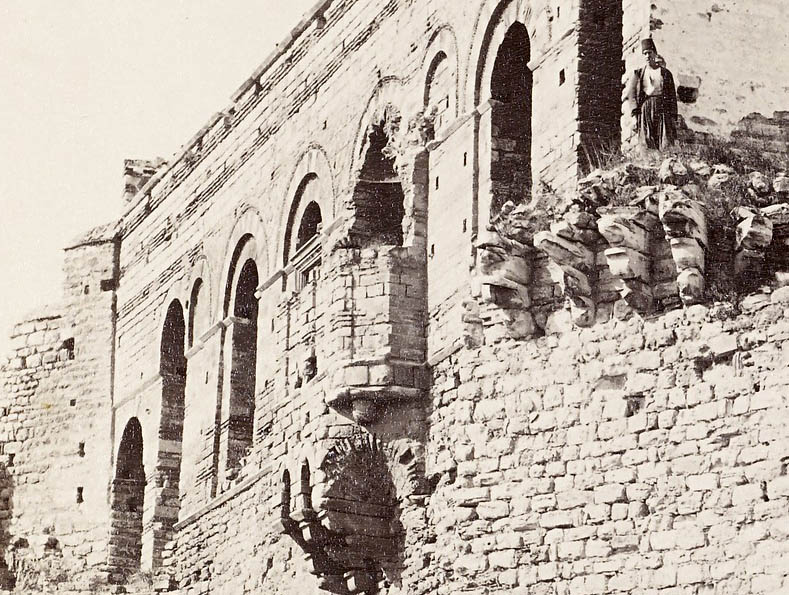 people standing on the Palace of the Porphyrogenitus