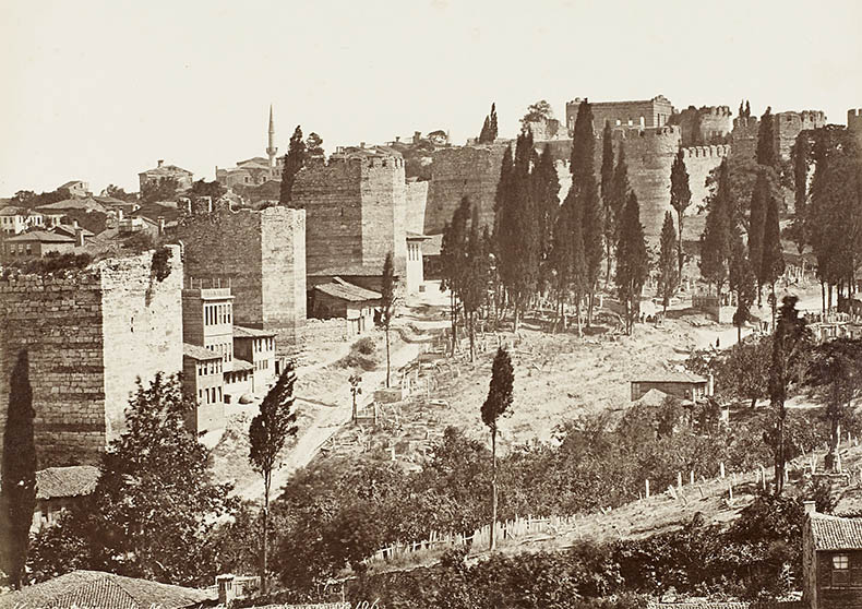 Tekfur Sarayi and Blachernai Walls of Manuel I