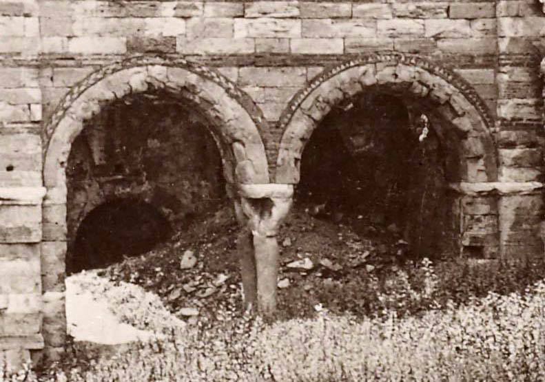 Tekfur Sarayi right arched entrance