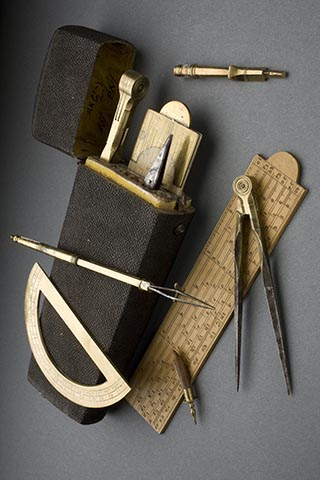18th Century Drafting Tools