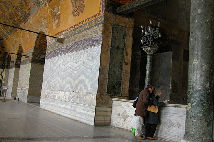Marble Revetment - West Gallery- Hagia Sophia