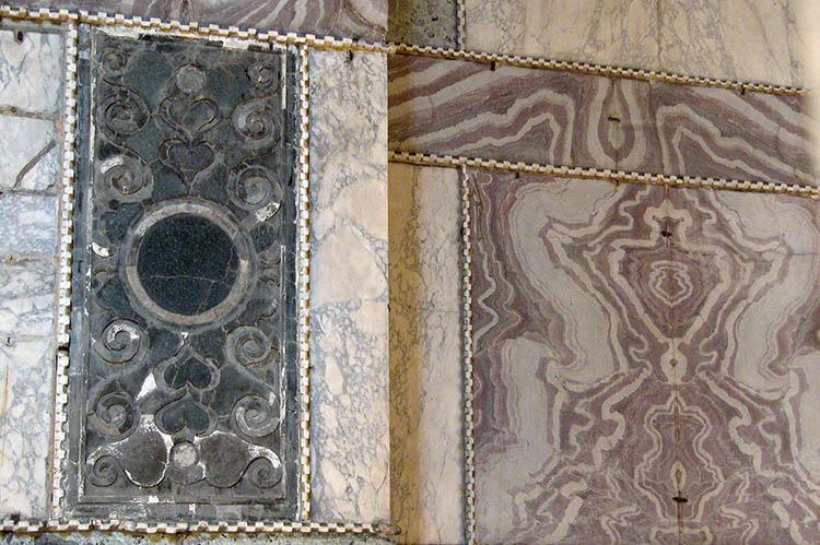 Green Porphyry Panel in Hagia Sophia