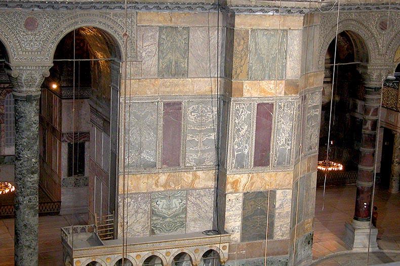 Marble Revetment in Hagia Sophia