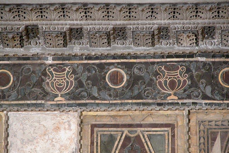 Inlaid Frieze Nave of Hagia Sophia