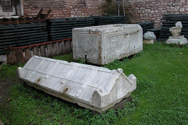 Tomb in Hagia Sophia garden