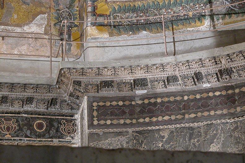 Cornice in Hagia Sophia