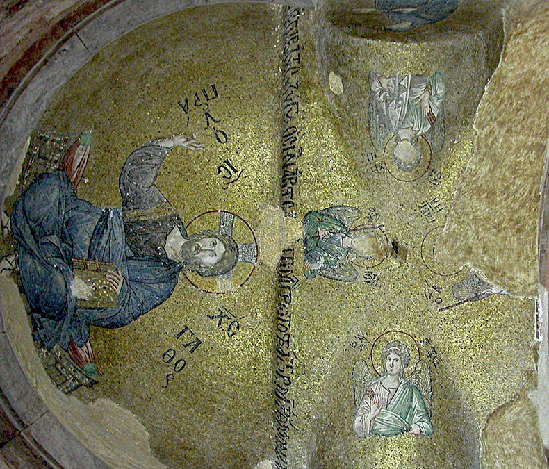 Angels in the Vault of the Pammacaristos
