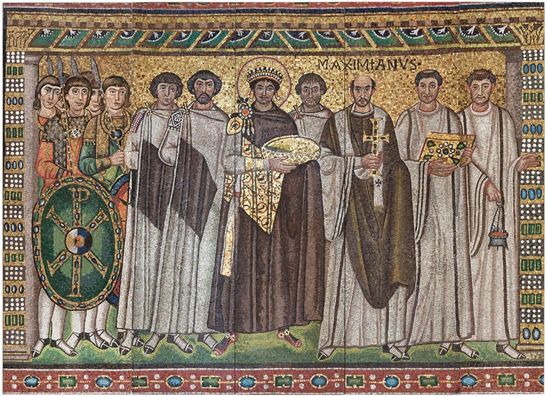 Justinian in San Vitale - Met Reproduction