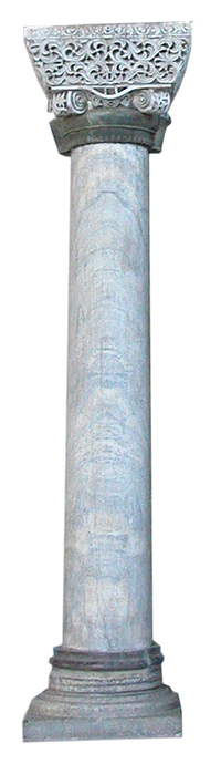 Proconnesian Column in Hagia Sophia