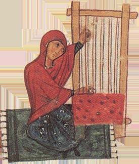 Byzantine Silk Weaver
