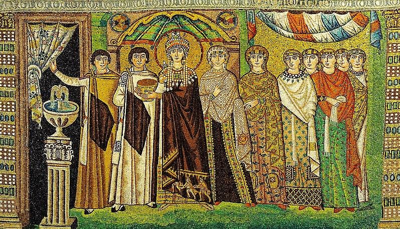 Theodora in San Vitale