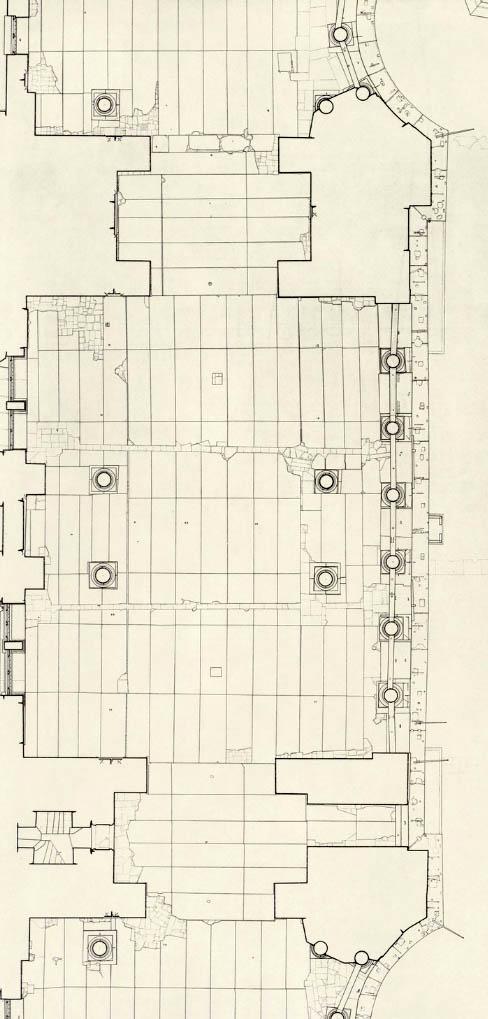 Robert Van Nice drawing of Hagia Sophia