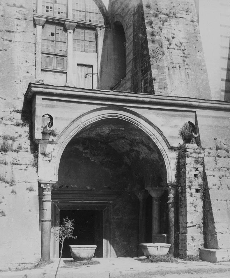 Back entrance to Hagia Sophia