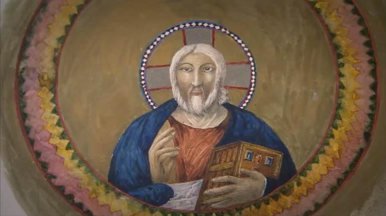 Fossatti Watercolor of Pantokrator
