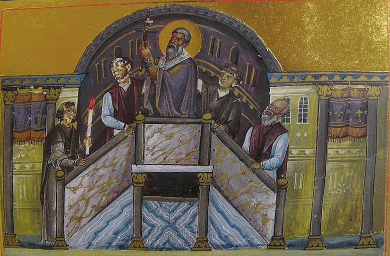 The Ambo in Hagia Sophia