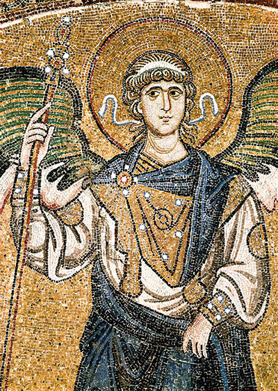 Archangel Michael in Hagia Sophia