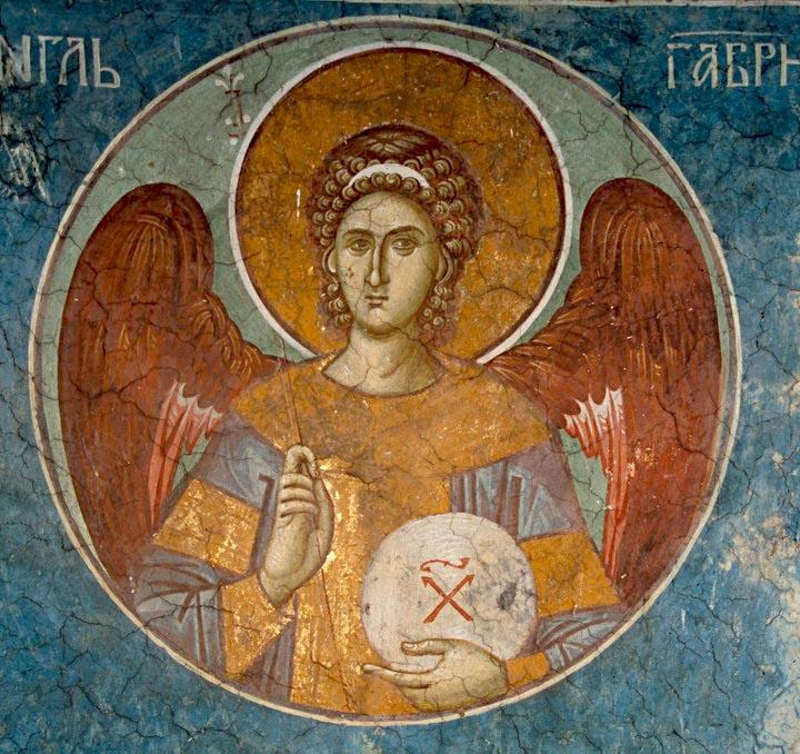 Byzantine Archangel Gabriel